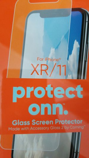 Screen protector for iphone XR/11 for Sale in Dearborn, MI