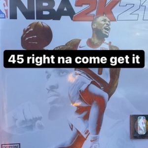 NBA 2K21 new PS4 for Sale in Baton Rouge, LA