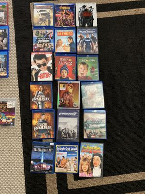 Movies 20$ all 18 movies for 20$ for Sale in Wenatchee, WA