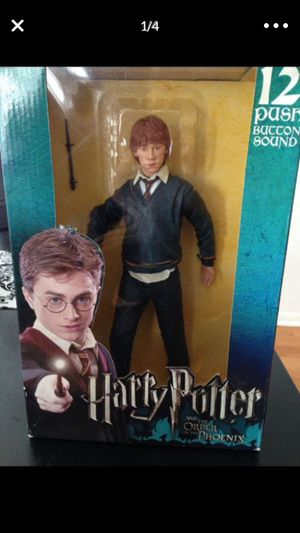 "Ron Weasley 12"" Action Figure Sound Order Phoenix Collectible SEALED NEW for Sale in Chicago, IL"