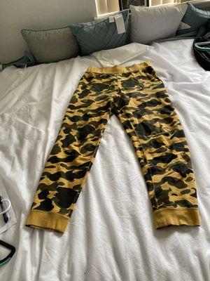 Bape sweats sz M for Sale in San Leandro, CA