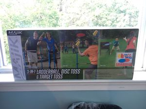 Ladder ball, disc toss, and target toss outdoor summertime bbq party fun games for Sale in Chantilly, VA