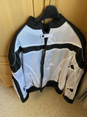 Men's Bilt Mesh Motorcycle Jacket with Armor & Removable Liner size XL for Sale in Glen Head, NY