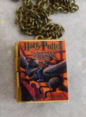 Harry Potter Book Locket - Harry Potter Book Locket Necklace - Prisoner of Azkaban ) J.K. Rowling for Sale in San Jose, CA