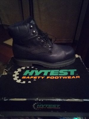 Hytest waterproof/steel toe work boots for Sale in LA BARQUE CRK, MO
