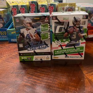 2020 football cards Blaster boxes Don Russ absolute for Sale in Clackamas, OR