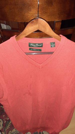 Mens Orange Swaeter Vest Size L for Sale in Washington, DC