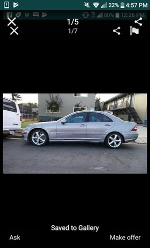 06 mercedes benz parts car for Sale in Atherton, CA