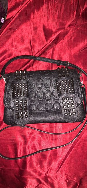 Black Skull and Studs crossbody bag for Sale in Avis, PA