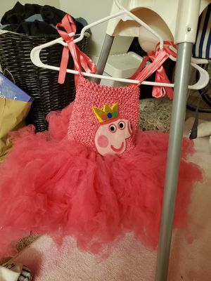 Peppa pig theme costume dress 2t for Sale in San Diego, CA