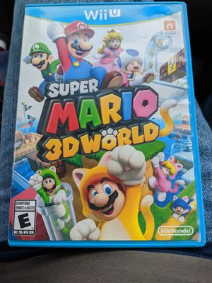 Nintendo Wii U Super Mario 3D World for Sale in Easley, SC