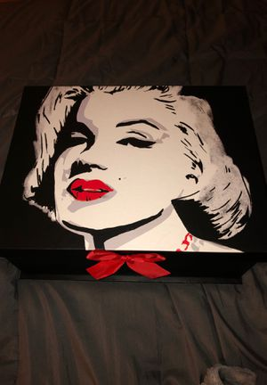 Marilyn Monroe storage containers for Sale in Midlothian, TX