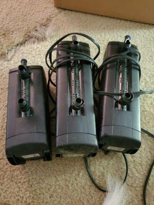 Fluval U2 U3 filter aquarium fish tank for Sale in Lynnwood, WA