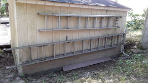 Extension ladder with brace for Sale in Stafford Township, NJ