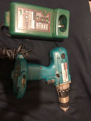 Makita hammer drill 6343d w/ charger for Sale in Alhambra, CA