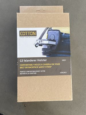 Cotton Carrier 288GREY CCS G3 Strap Shot for One Camera - Grey for Sale in Los Angeles, CA