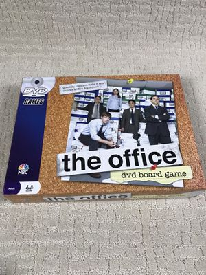 The Office Dvd Board Game NBC Pressman 2008 Trivia Sealed NEW for Sale in French Creek, WV
