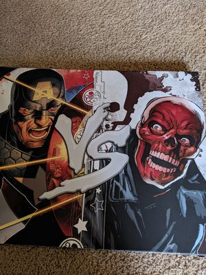 Captain America wall decor for Sale in Edgewood, WA