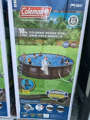End of season clearance 18ft Coleman Kit for Sale in Williamsport, PA