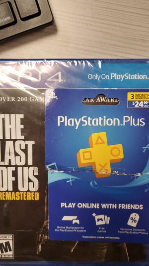 Ps4 3 month live and game for Sale in El Mirage, AZ