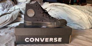 Black Monchrome Converse for Sale in San Jose, CA