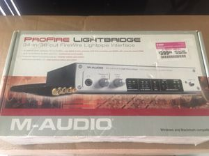 M-Audio ProFire Light Bridge 34ch in 36ch out optical interface for Sale in Carson, CA