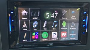 JVC car stereo V130bt DVD apps Bluetooth $140firm for Sale in Dallas, TX