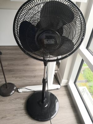 Stand fan with remote for Sale in West McLean, VA