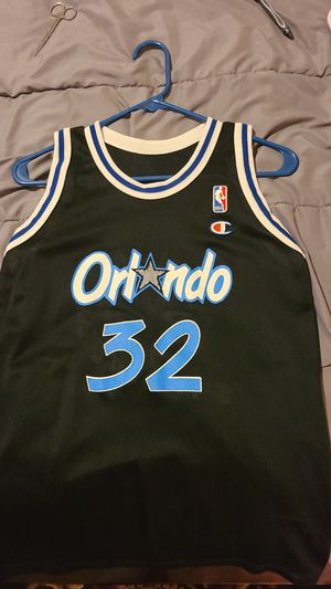 Champion brand black Orlando Magic Shaquille O'Neal Jersey for Sale in San Antonio, TX