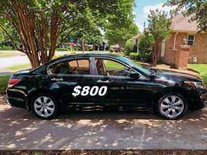 $8OO URGENT For sale 2OO9 Honda Accord EX-L V6 Run and drive very smooth, clean title!! for Sale in Arlington, VA