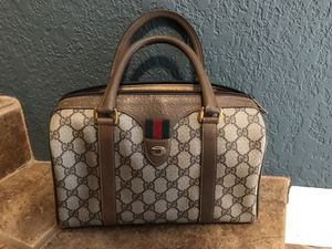 VTG GUCCI BOSTON BAG for Sale in Castro Valley, CA