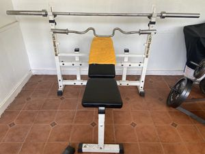 Olympic size workout equipment for Sale in Dover, FL