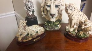 White tiger statues for Sale in Lake Worth, FL