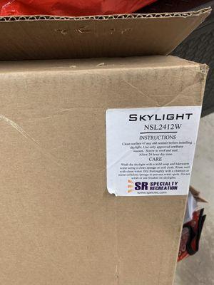 RV Skylight for Sale in Gibbsboro, NJ