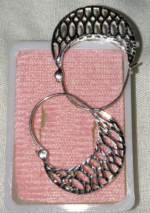 Silver earring for Sale in Maricopa, AZ