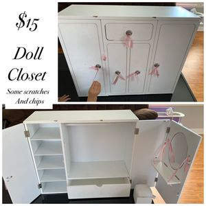 Doll closet for Sale in Cypress, CA
