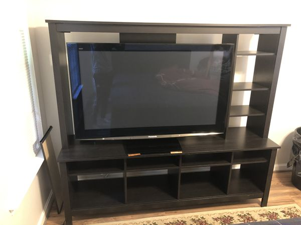 TV 50 inch and furniture