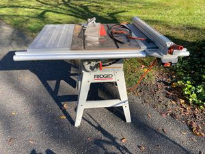 "Large Rigid 10"" table saw for Sale in Sewell, NJ"