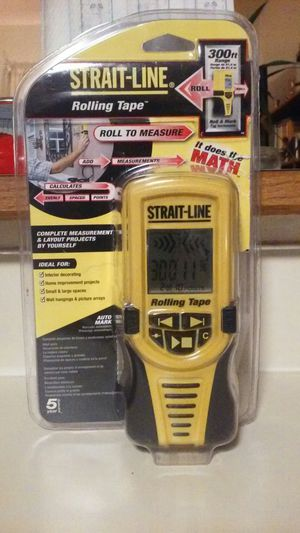 Straight line rolling tape for Sale in Snohomish, WA