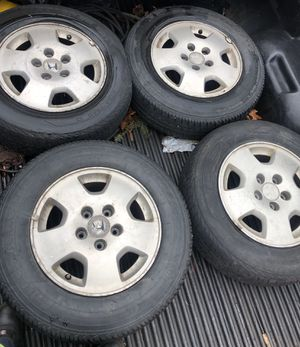 15 inch Honda rims and tires for Sale in Boston, MA