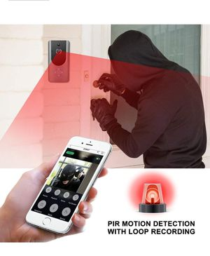 WIFI SMART DOOR BELL WITH CAMERA RECORDING ANYTHING 24/7. FOR YOUR'S PROTECTION AND WITNESS ANY IRREGULARITIES for Sale in Los Angeles, CA