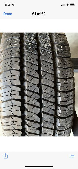 Tire Jeep Grand Cherokee 2015- 245/75/16 for Sale in Stillwater, NY