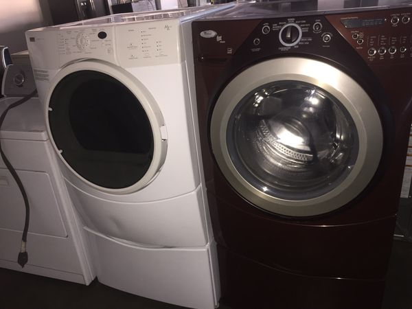 Whirlpool Washer and kenmore gas dryer