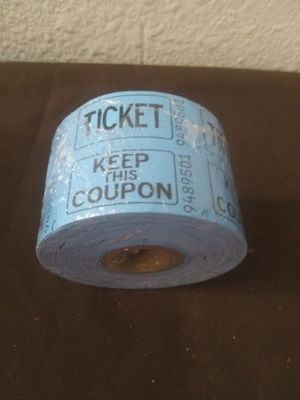 Raffle ticket roll 500 count new for Sale in Lockhart, FL