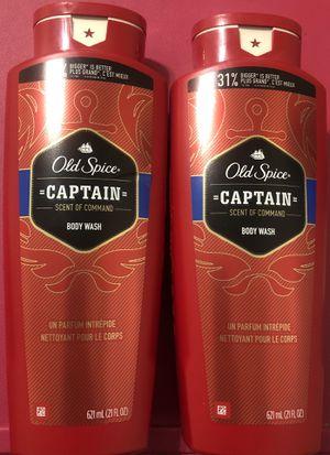 Old Spice Bodywash ( Captain) for Sale in Fresno, CA