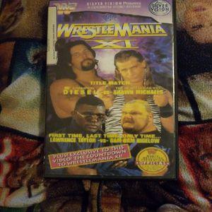 Wwf Wrestlemania XI dvd for Sale in Chicago, IL