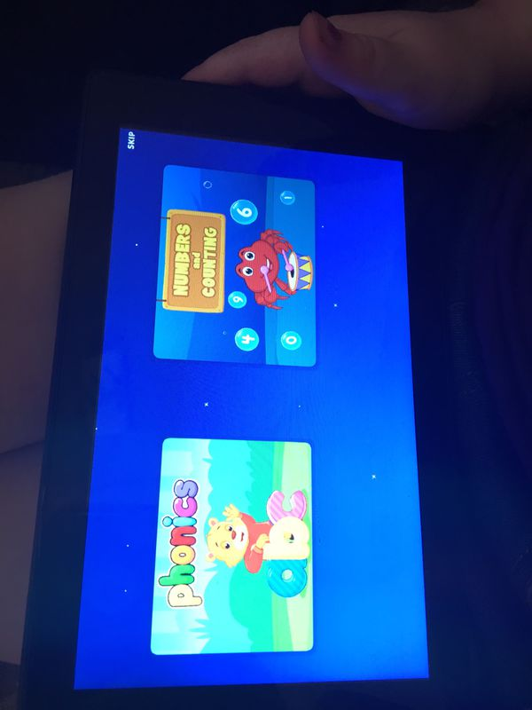 Amazon fire tablet (kids or adult)