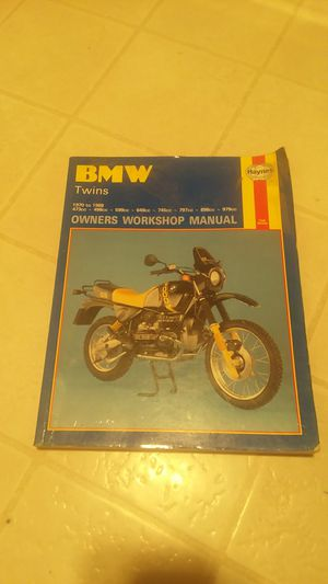 BMW owners manual motorcycle for Sale in McMinnville, OR