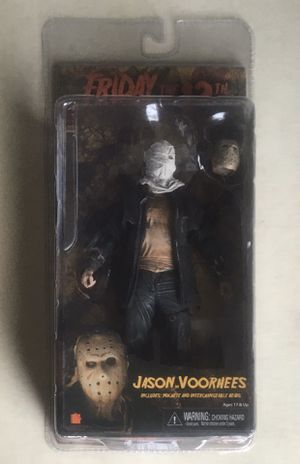NECA Jason Voorhees Figure for Sale in Redford Charter Township, MI
