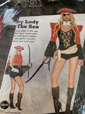 """Sexy """"Lady of the Sea"""" women's pirate Halloween costume for Sale in Phoenix, AZ"""